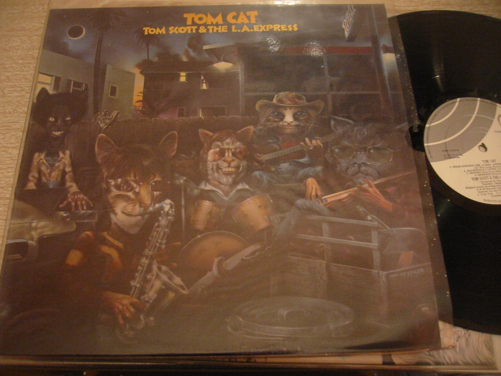 TOM SCOTT & L.A. EXPRESS - TOM CAT - ODE RECORDS